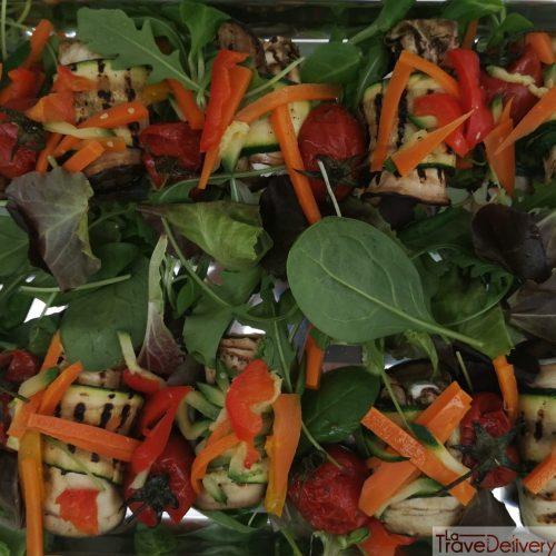 Girelle di zucchine e melanzane